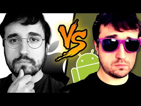 ANDROID VS iPHONE! - Coisas que o iOS nцёo tem.