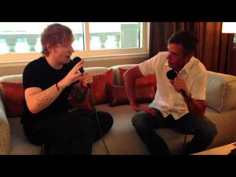 Ed Sheeran - Exclusive Hotel Room Interview - Kidd Kraddick in the Morning