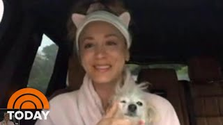 Kaley Cuoco Video Chats On The 3rd Hour — From Her Car! | TODAY