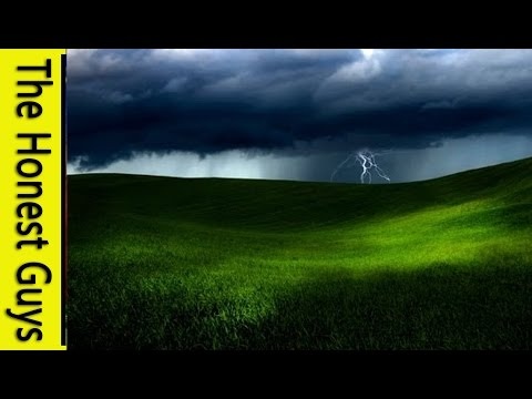 1 HOUR of RAIN and THUNDER - Fall Asleep - Relaxing Ambient Audio