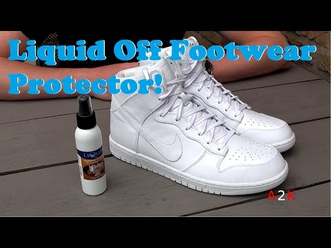 Best Way To Protect Your Sneakers? Liquid Off Footwear Protector Review!!