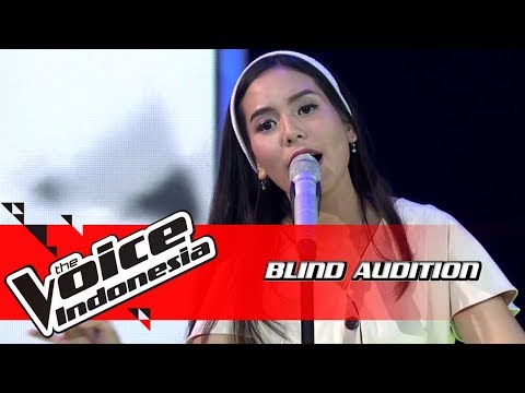 Nabila - Pelangi Di Matamu   Blind Auditions   The Voice Indonesia GTV 2018