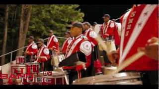 Stone Mountain High School Drum Line - Percussion Feature (2012)