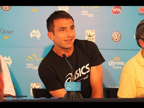 Catching Up with Marinko Matosevic: Apia International Sydney 2013