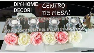 DIY CENTRO DE MESA