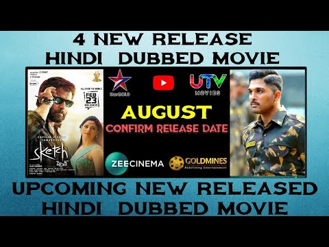 August - 5 Upcoming New South Hindi Dubbed Movie | Surya The Soldier Hindi Dubbed Movie