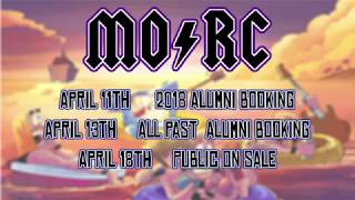 SURPRISE SHOUTOUT and BAND ANNOUNCEMENTS for MORC 2019