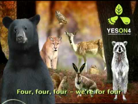 Must See Funny Singing Animal Music Video Political Ad Video