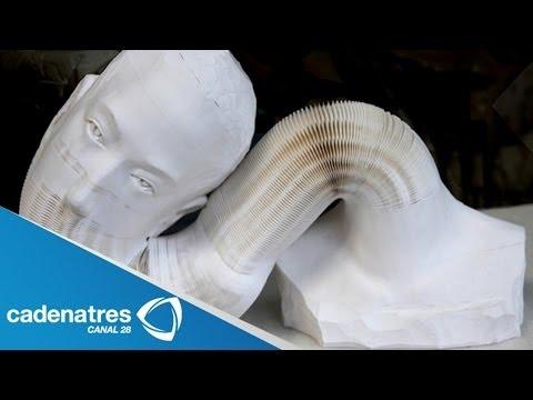 Impresionantes esculturas hechas de papel / Obras de Li Hongbo