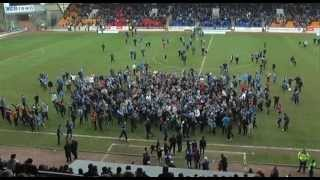 St Johnstone celebrations