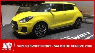 Salon de Genève 2018 - Suzuki Swift Sport turbo 140 ch