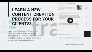 Download lagu A new content creation process using Frase.io