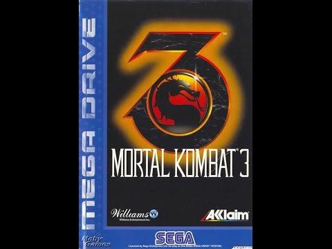 The Rooftop - Mortal Kombat 3 - SEGA Mega Drive