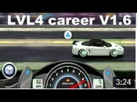 Drag Racing win level 4 career Honda NSX-R with 1 tune setup V1.6