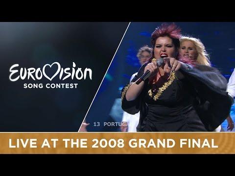 Vânia Fernandes - Senhora Do Mar (Negras �guas) (Portugal) Live 2008 Eurovision Song Contest
