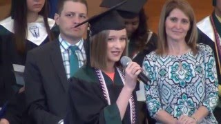 The Girl You Think I Am At Bvsw Class Day 2016