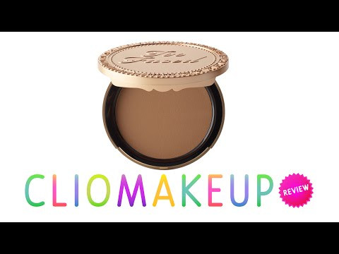 Review Recensione Chocolate Soleil Too Faced Terra Bronzer