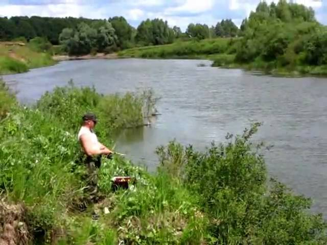 как ловить рыбу на реке мокша