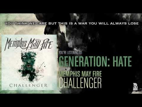 Memphis May Fire - Generation: Hate video