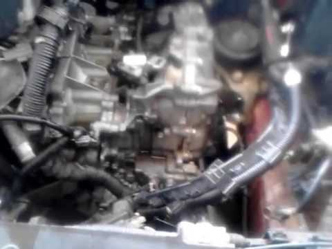 nissan altima cvt transmission removal part  youtube