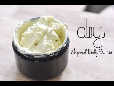 DIY Whipped Body Butter ::ALL NATURAL::