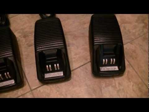 Motorola Intellicharger Rapid Chargers for XTS3000, XTS2500, XTS5000 and Jedi Series Radios - MINT!