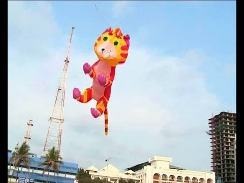 """One India Kite team""participate International Kite festival China ലോകപട്ടം പറത്തല്‍"