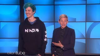 Ninja and Ellen play fortnite- Deleted scene *rare footage*