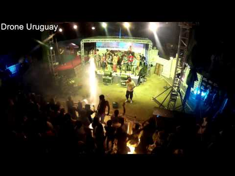La Kema Tutti en vivo Life Color . Drone Uruguay