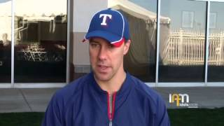 Texas Rangers Outfielder David Murphy Interview