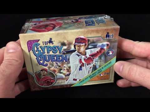2019 Topps Gypsy Queen Baseball Blaster Box Break