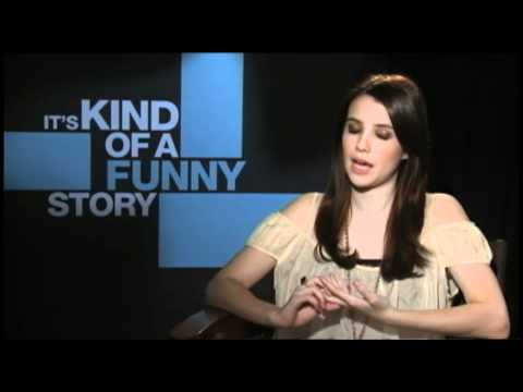 Emma Roberts and Keir Gilchrist talk about 'It's Kind of a Funny Story'