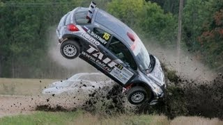 Rallye crash compilation new 2012 #1 !
