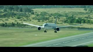 Qatar Airways Inaugural Flight to Canberra, Australia