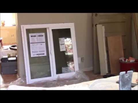 How to replace windows on a brick house