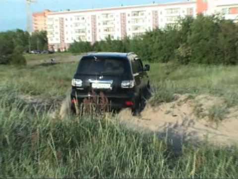 Архангельск-тест драйв Ниссан Патрол 2011 Ягры пески