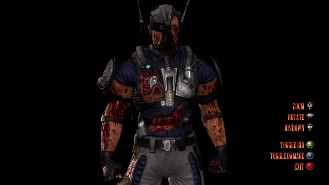 Mortal Kombat 9: Kabal's Character Bio - YouTube