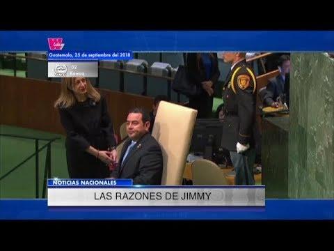 Presidente acusa a Cicig de entrometerse en política, violar la constitución, entre otros | 25Sep