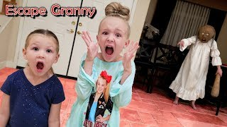 Escape the Babysitter Granny in Real Life Escape Room!