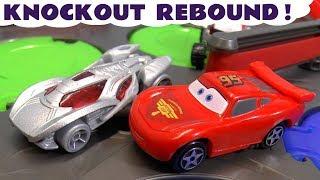 Hot Wheels Cars McQueen Rebound Color Team Racing Finals with Avengers Superhero Cars TT4U