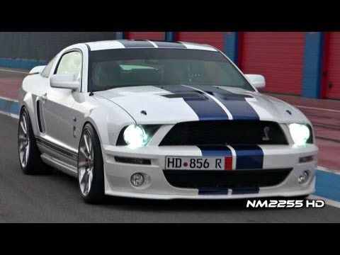 Modified Shelby Mustang GT500 INSANE SOUND on Track!