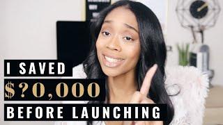 HOW MUCH MONEY DID I SAVE?! | Preparing for Full-Time Entrepreneurship