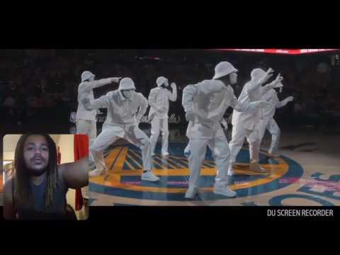 JABBAWOCKEEZ at NBA finals 2016 REACTION !!!!