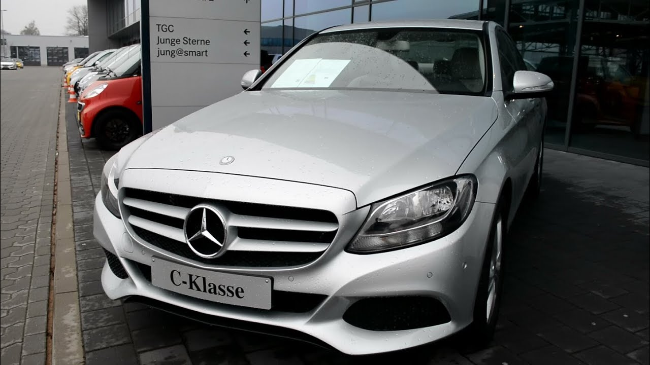 2014 New Mercedes Benz C Class W205 C Klasse C180 Youtube
