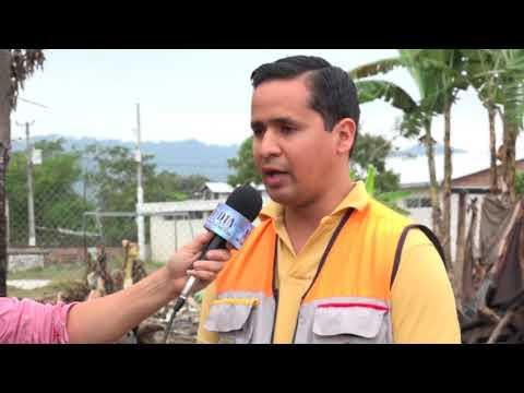 Entrega de ayuda humanitaria a damnificados por incendio en Tacheve