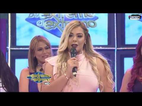 Sandra Berrocal anuncia que esta embarazada en De Extremo a Extremo
