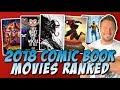 All 8 2018 Comic Book Movies Ranked MCU DCEU X Men More mp3