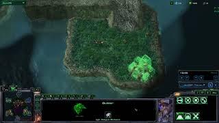 Starcraft 2 - Zerg Hex (16) Terran Hold