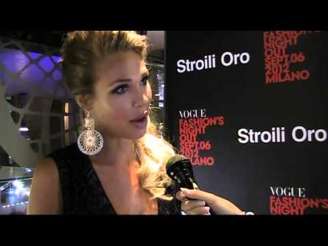 Intervista a Ilary Blasi, testimonial di Stroili Oro | Vogue Fashion's Night Out