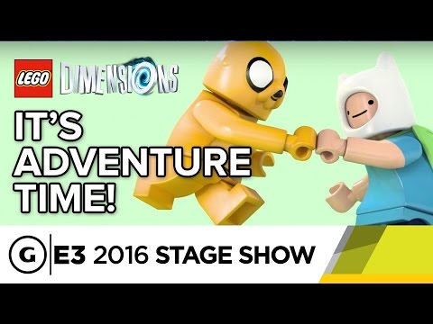 In LEGO Dimensions There Are No Rules - E3 2016 Stage Show